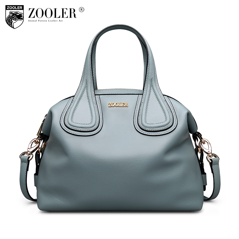 ZOOLER Brand Luxury Handbags Women Bags Designer Genuine Leather Crossbody Bags for Women Shoulder Messenger Bag Tote Sac A Main 2017 new arrival designer women leather handbags vintage saddle bag real genuine leather bag for women brand tote bag with rivet
