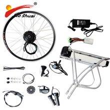 48 V/36 V мощный электрический велосипед E велосипед набор для модификаций электронного велосипеда комплект с электрический велосипед с батареей комплект Китай сзади стойки Батарея светодиодный
