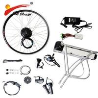 48V/36V Powerful Electric Bike E Bike Conversion Kit EBike Kit with Battery Electric Bike Kit China Rear Rack Battery LED