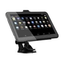 XGODY 7 Inch Car GPS Navigation Android 2 in 1 Tablet PC 16GB WiFi Bluetooth Auto GPS Car Navigator Sat Nav Navitel Europe Map
