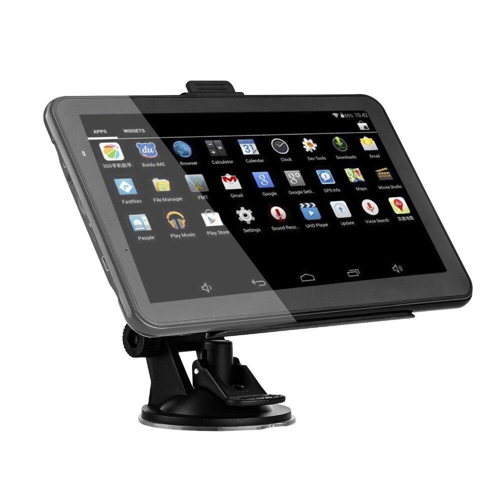 XGODY 7 Zoll Auto GPS Navigation Android 2 in 1 Tablet PC 16GB WiFi Bluetooth Auto GPS Auto Navigator sat Nav Navitel Europa Karte