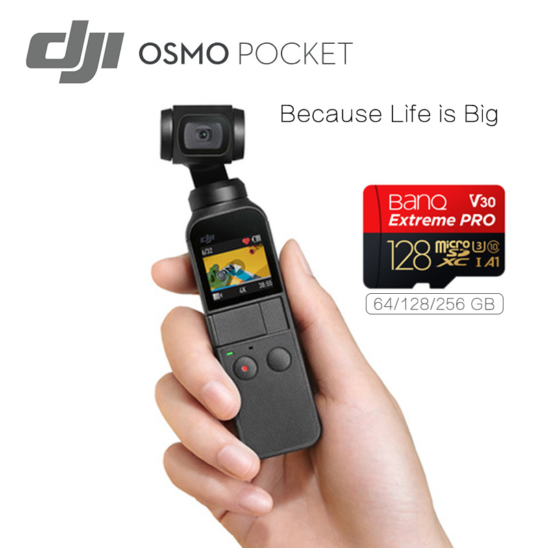 Unique Dji Osmo Pocket 3-Axis Stabilized Handheld Digicam 4K 60Fps Video Mini Digicam Light-weight & Transportable In Inventory