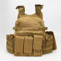CQC 6094 Plate Carrier Tactical Molle Vest Body Armor Military Army Airsoft Paintball CS Outdoor Combat Training Hunting Vest