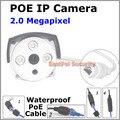 2017 Бесплатная доставка! Full HD 2.0MP POE IP водонепроницаемая Камера ИК Ночного видения p2p onvif Камеры ВИДЕОНАБЛЮДЕНИЯ системы Безопасности IE Mobile view