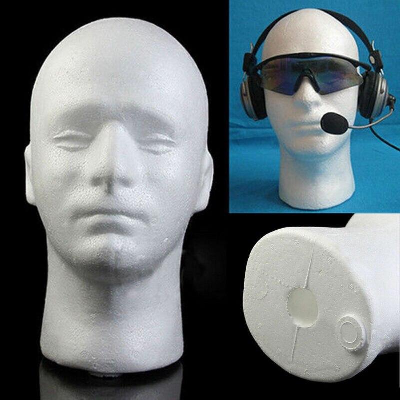 Голова манекена из пенополистирола, мужская, женская, лебедь, унисекс Шея