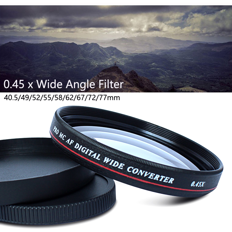 0.45x Professional Wide Angle Conversion Lens -1