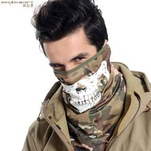 Sinairsoft outdoor sports hiking riding cycling face Luminous mask training half face anti-fog masks bicycle dust running mask