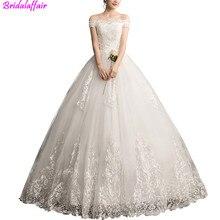 Sexy Sweetheart Lace Wedding Dress Half Sleeve Off Shoulder Wedding Gown Cheap Plus Size Ball Gown Bridal Dress Vestido De Noiva plus sweetheart bishop sleeve dress