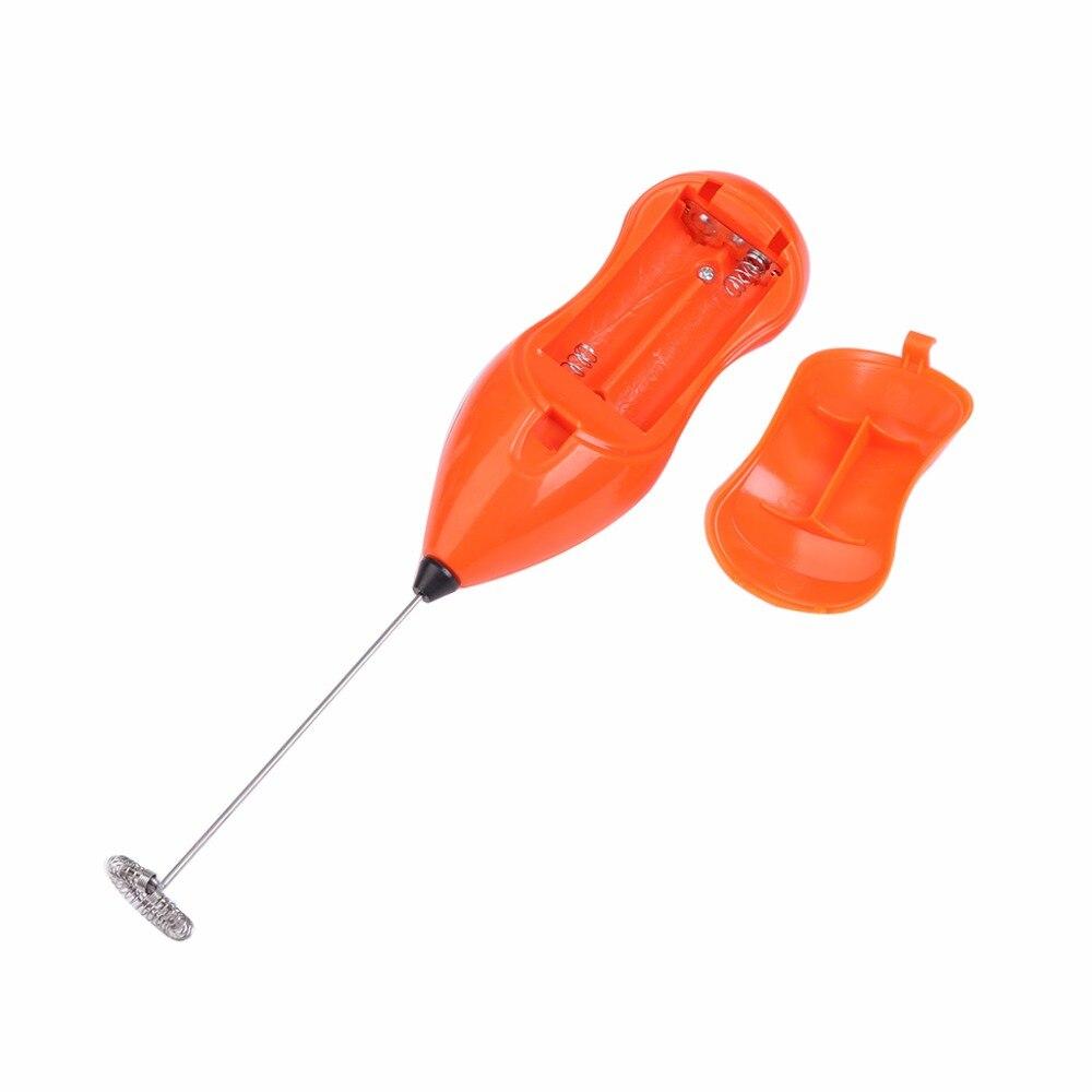 Мини ручка электрический миксер пить молоко яйцевзбиватель пеномер взбейте мешалка ударная