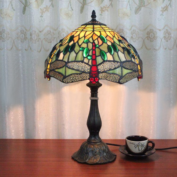 Lamparas Color Glass Led Table Lamp Hand Made Tiffany Desk: Popular Dragonfly Knobs-Buy Cheap Dragonfly Knobs Lots