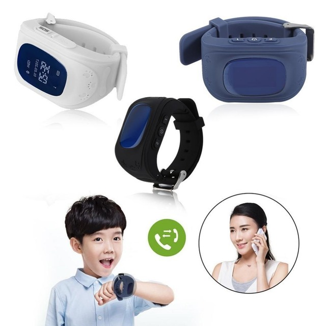 Q50 Anti-Lost Smart Watch Children Accurate Tracker Emergency Bracelets Watches
