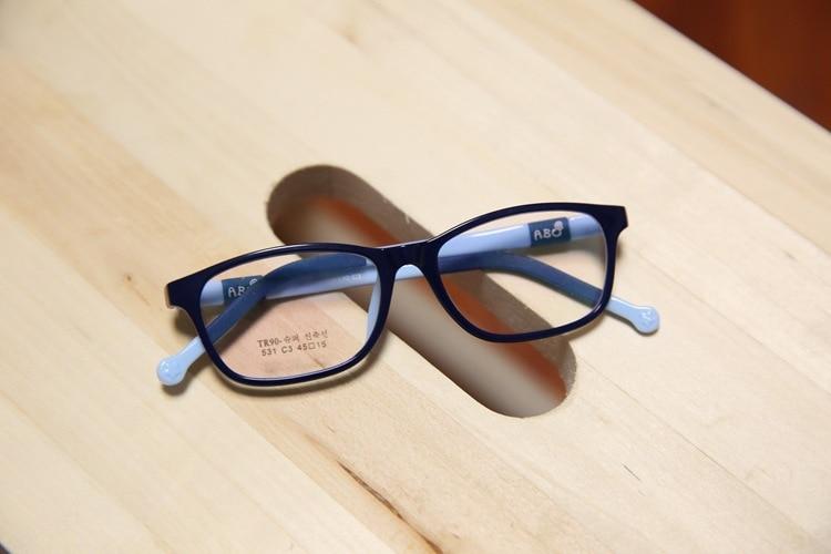 c278730aee Children Silicone Glass Frame Boys Girls Myopia Amblyopia Optical ...