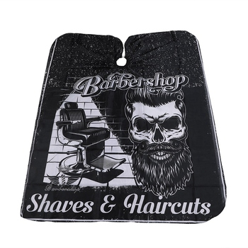 Cutting Hair Waterproof Cloth Haircut Salon Barber Cape Hairdressing Hairdresser Apron Wrap Gown Haircut Cape popular salon barber hairdressing gown with snap button neck finished hair cape anti static fashion design hot sell stylist wrap