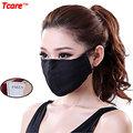 Tcare Unisex Algodão Macio Boca Máscara PM2.5 Filtro Anti Poeira Máscara de Gás Máscara de Poluição Cuidados de Saúde Anti-embaçamento máscaras