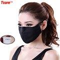 Tcare Unisex Suave Algodón Boca Máscara Contaminación De Gases de Filtro PM2.5 Máscara Contra El Polvo Máscara de Cuidado de La Salud Anti-niebla Neblina máscaras