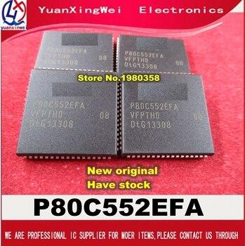 Freight free 10PCS/LOT P80C552EFA/08 P80C552EFA P80C552 80C552 MCU 8BIT 68PLCC
