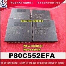 Frete grátis 10 pçs/lote P80C552EFA/08 P80C552EFA P80C552 80C552 MCU 8BIT 68PLCC