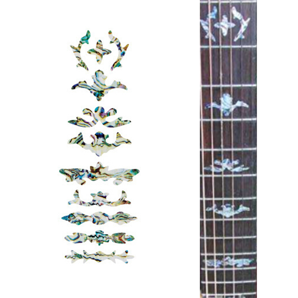 1pc fretboard sticker guitar bass sticker fretboard marker diy decal for acoustic electric. Black Bedroom Furniture Sets. Home Design Ideas