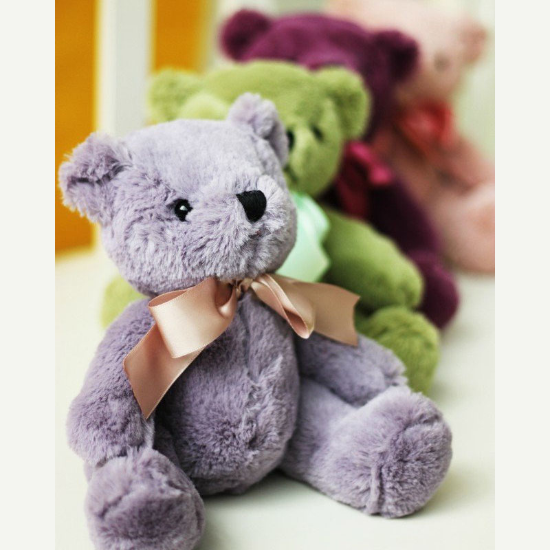 <font><b>20</b></font> cm Comfort Toy Soft Teddy Bear Stuffed Plush Toys Classic Kawaii Plush Doll Toys Valentine's <font><b>Day</b></font> Gift for Girlfriend & Kids image