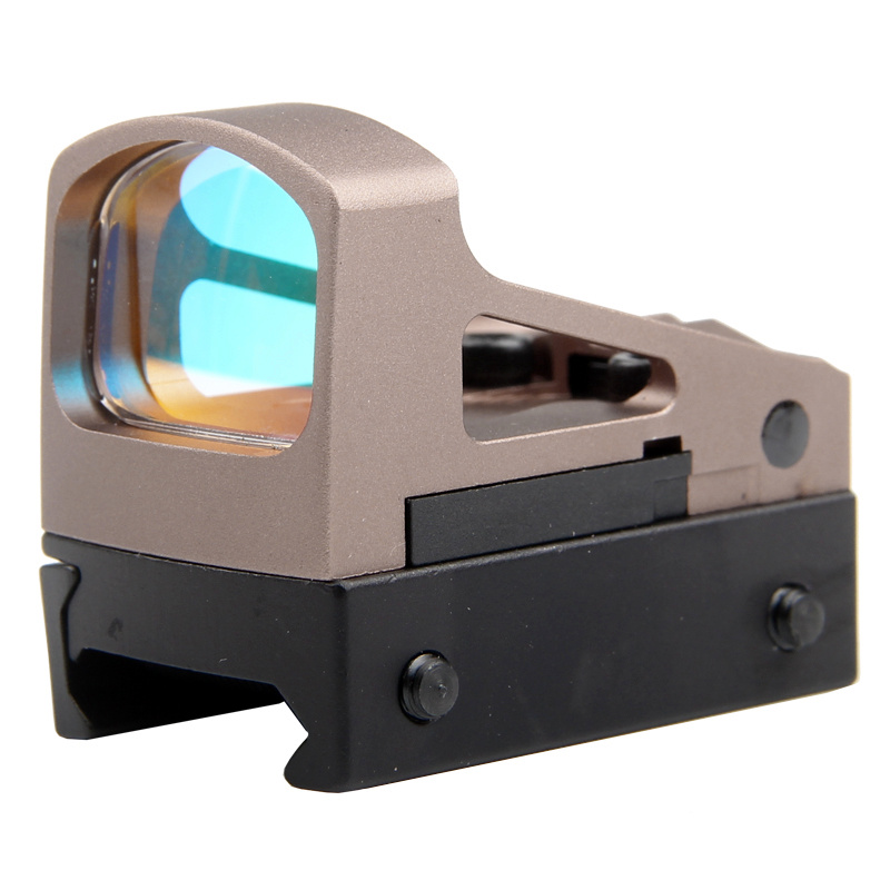 Tactical Airsoft Glock Pistol RMS Reflex Mini Sight Red Dot Sight With Vented Mount And Spacers Hunting Reddot Scopes