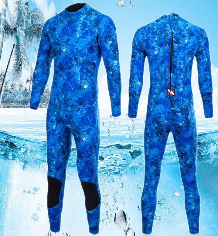 Bereidwillig Nieuwe Camouflage 3 Mm Neopreen Duiken Wetsuit 1 Stuk Winter Zwemmen Surfen Vissen Pak Mannen Vrouwen Warm Jumpsuits Plus Size