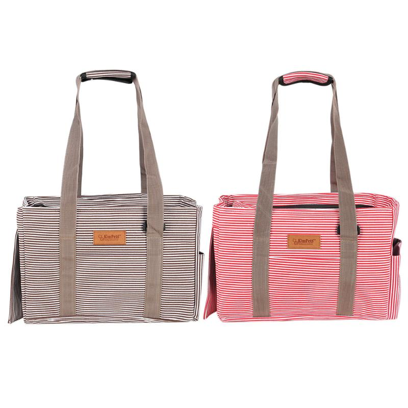 Breathable Pet Dog Carrier Bag Canvas Casual Carrying Bag For Dog Cat Animals Travel Shoulder Bags Portable Pet Carrier