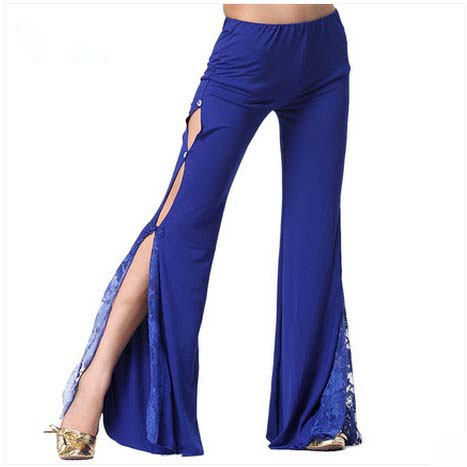 Belly Dance Costumes Senior Sexy Lace Stones Belly Dance Trousers For Women Belly Dancing Trousers