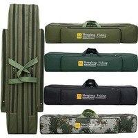 3 Layer Fishing HAND Bags Folding Fishing Rod Bag Case Fishing Tackle Tools Storage Bag