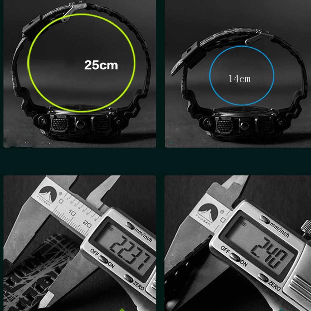 Męskie zegarki analogowy zegarek kwarcowy wodoodporny chronograf Auto data sport armia zegarek wojskowy męski Masculino