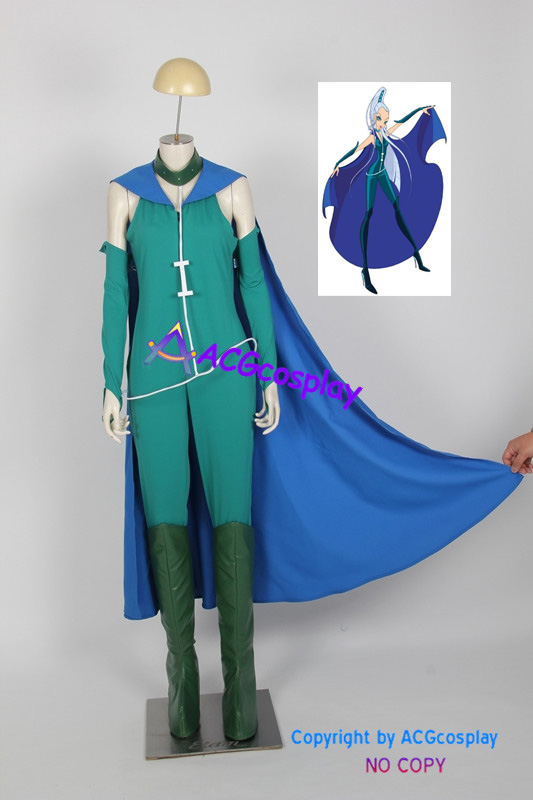 Winx Club Icy season one Cosplay Costumes include boots covers ACGcosplay anime costume
