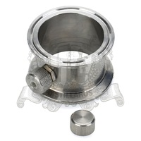 1 5 4 Tri Clamp Pipe With Thermowell Nipple Stainless Steel 304