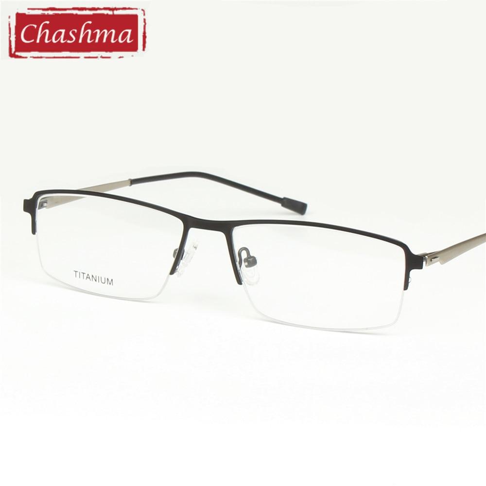 Chashma marca diseñador hombres gafas ópticas marco montura de gafas ...