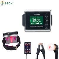 Новейший лазер медицинское физиотерапевтическое оборудование для диабета II и очистки крови