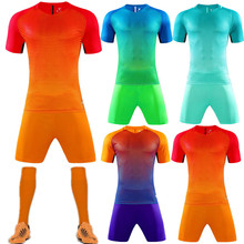 Лидер продаж; спортивная одежда для мальчиков и девочек; детская одежда для активных занятий футболом; детская спортивная одежда; Джерси; печать номера; QD011