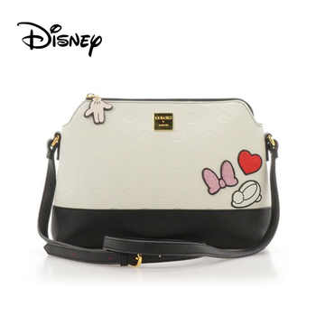 Disney Japanese Alice in Wonderland Mickey Minnie Mouse Women's Shoulder Messenger Bag Girl Travel Shell Bag Mobile Bags Fashion - DISCOUNT ITEM  27 OFF All Category
