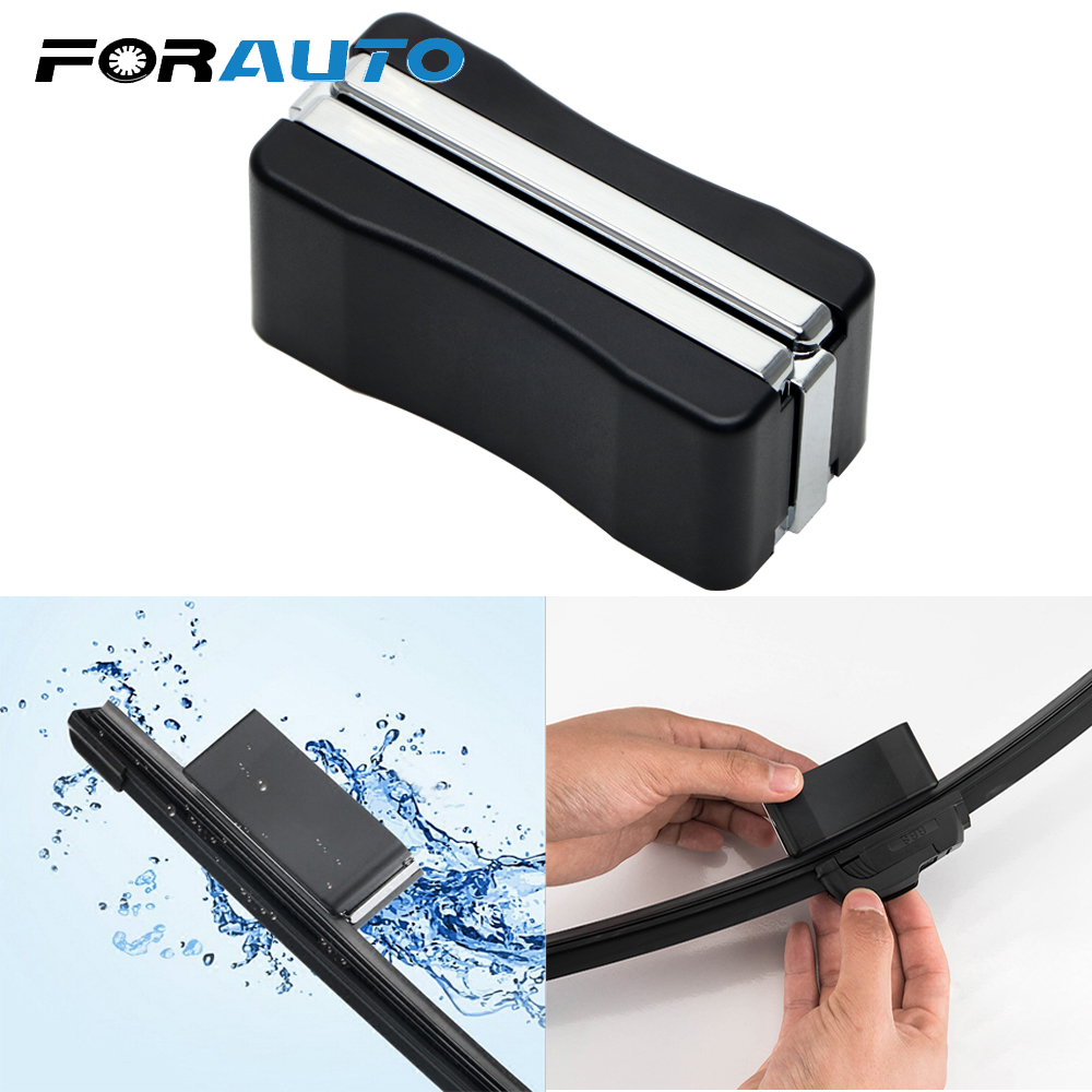 FORAUTO Car Wiper Blade Repair Tool Auto Windshield Wiper Wizard Blade Restorer Van Windscreen Cleaner For Auto Brush Repair