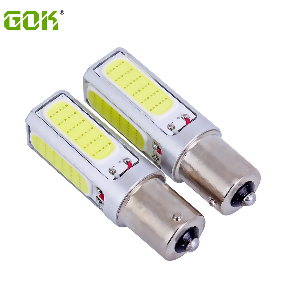 2x 1156 led light COB LED BA15S Fog Lamp Daytime Running Light DRL Bulb h11 h7 h4 hb4 Car Signal Reverse Light Bulb cob 20w  led wljh 2x car led 7 5w 12v 24v cob chip 881 h27 led fog light daytime running lamp drl fog light bulb lamp for kia sorento hyundai