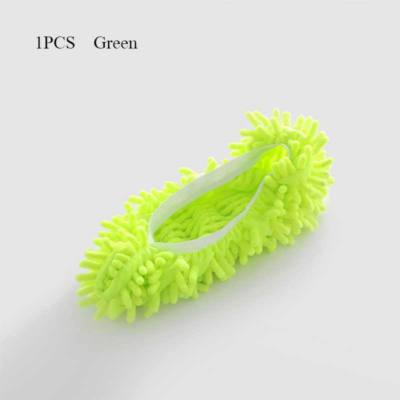 1Pcs Shoes Covers Mop Slipper Lazy House Floor Polishing Cleaning Easy Foot Sock Shoe Cover Mopping Lazy Shoe Cover Blue Purple (14)