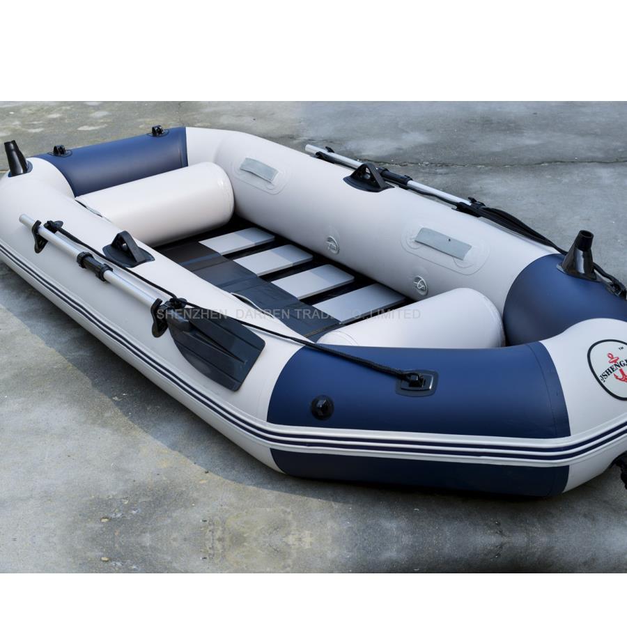 இ3 persona bote inflable Pesca PVC barcos rwing barco a la deriva ...