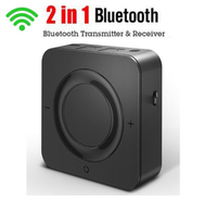 USB Bluetooth 5.0 Audio 2 In 1 Wireless Transmitter Receiver CSR8670 Aptx Adapter 3.5mm AUX for Car TV Home Headphones Speaker
