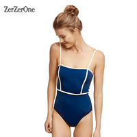 One Piece Swimsuit Women Sexy Bandage Brazilian Bikini 2017 Swimwear Female Bathing Suits Swimsuit One Piece