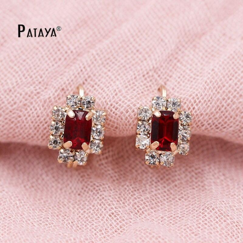 PATAYA Geometry Vintage Earrings 585 Ross