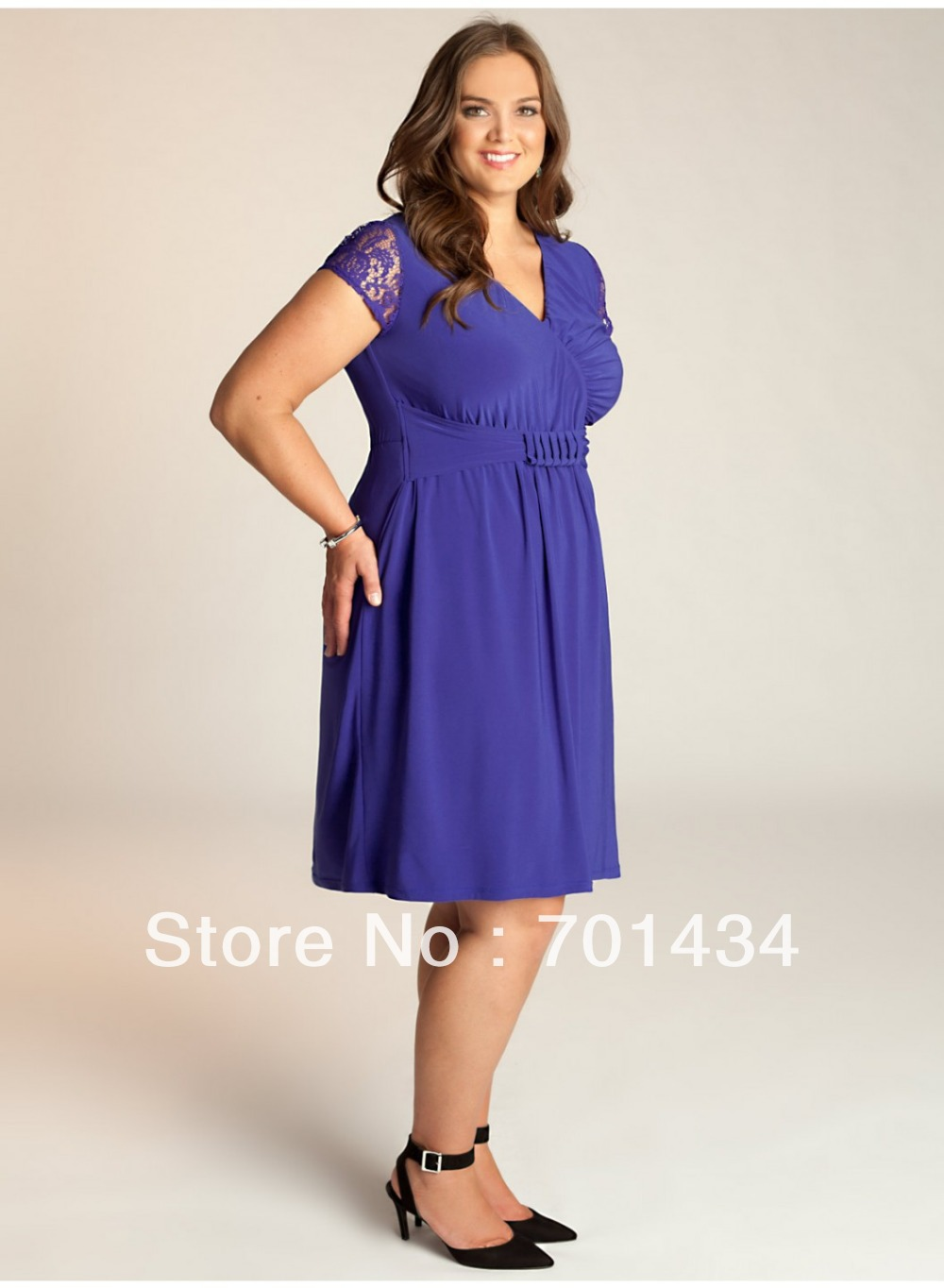 Tea Length Mother of the Bride Dresses in Champaign