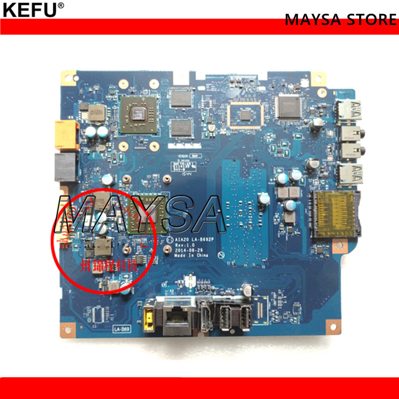Original Fit For Lenovo C2005 AIO Motherboard A8-6410 AIA20 LA-B692P Mainboard with video card 100%tested fully work цена