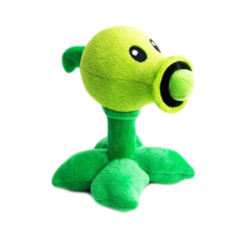 Plants vs Zombies Peashooter Plush Soft Figure PopCap PvZ Toy Height 11 6//8/""