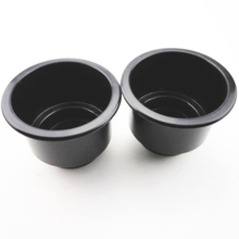 2PCS Black Plastic Cup Drink Can Holder For Boat Marine RV Universal Useful Hot