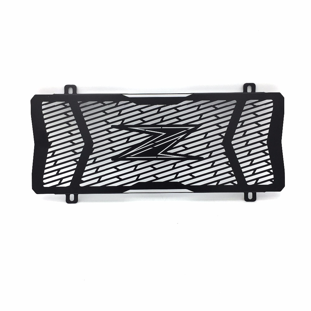 Black Motorcycle Accessories Radiator Grille Guard Cover Protective For Kawasaki Z650 2017 arashi motorcycle radiator grille protective cover grill guard protector for 2008 2009 2010 2011 honda cbr1000rr cbr 1000 rr