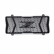 Black Motorcycle Accessories Radiator Grille Guard Cover Protective For Kawasaki Z650 2017