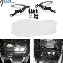 Motorcycle Headlight Grill Guard Cover Protector For BMW R1200 GS R1200GS/LC /Adventure 2012-2018 2013 2015 2014 2016 2017 2018 for bmw r1200gs lc 2013 2016 r1200 gs adventure lc 2014 2016 motorcycle headlight guard protector 2 with quick release fastener