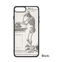 Human Bones Ribs Dinosaur Skeleton Cool Science Fossil Painting Pattern Phone Case For IPhone X 7